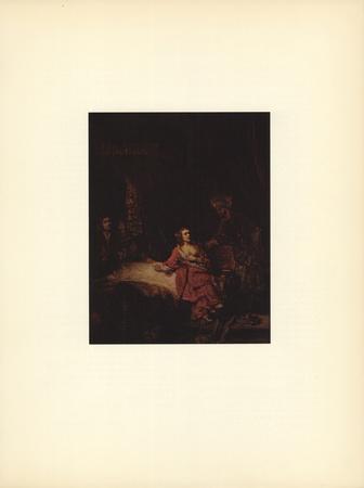 Joseph et la Femme du Putiphar