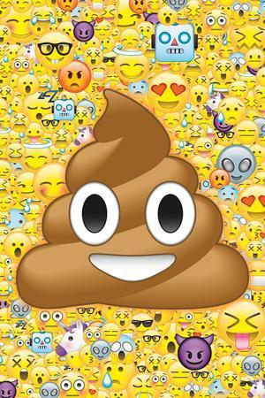 Poop Emoticon & Friends