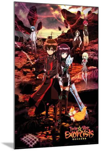 TWIN STAR EXORCISTS Anime CHARACTERS POSTER 24x36