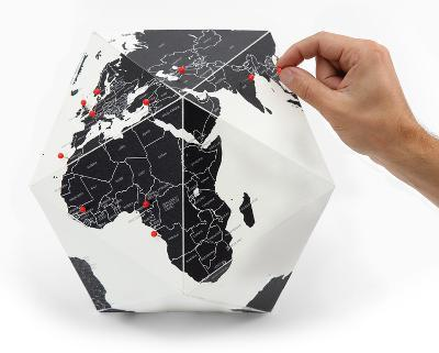 Here - The Personal Globe - Medium, Black