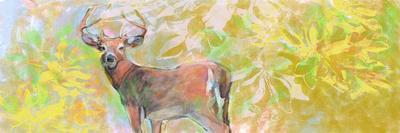 Deer With Magnolia