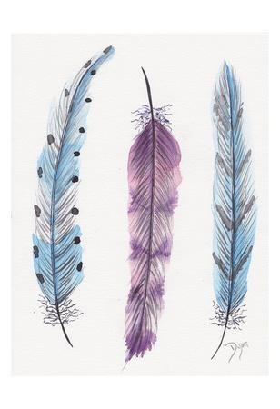 October Feathers I