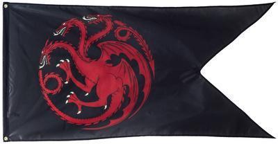 Game of Thrones - House Targaryen Outdoor Flag
