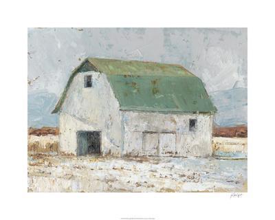 Whitewashed Barn II