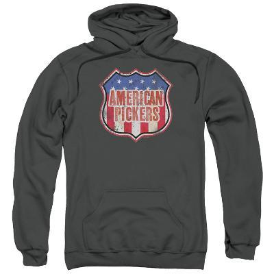 Hoodie: American Pickers- Vintage Logo Shield