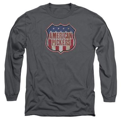 Long Sleeve: American Pickers- Vintage Logo Shield