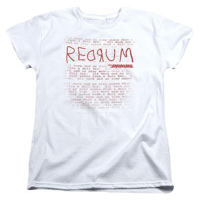 Womens: The Shining/Redrum Scrawl