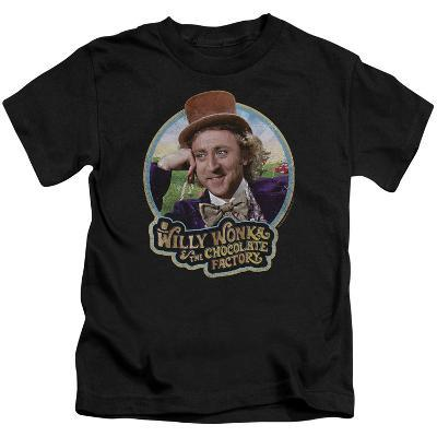Juvenile: Willy Wonka And The Chocolate Factory/Smiling Willy Badge