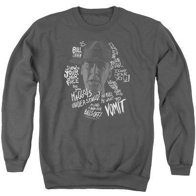Crewneck Sweatshirt: Full Metal Jacket/Gunnery Sergeant Hartman Quaotes
