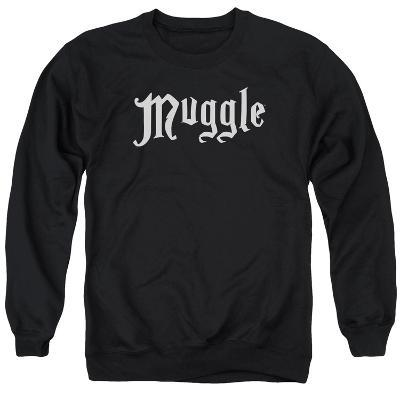 Crewneck Sweatshirt: Harry Potter- Muggle Badge