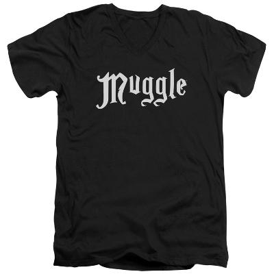 Harry Potter- Muggle Badge V-Neck