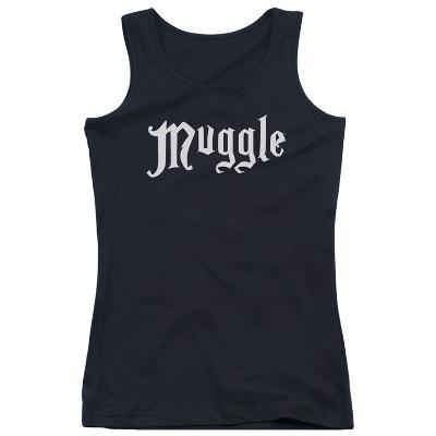 Juniors Tank Top: Harry Potter- Muggle Badge