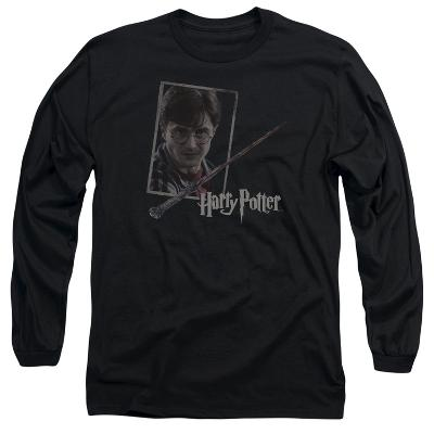 Long Sleeve: Harry Potter- Wand And Portrait