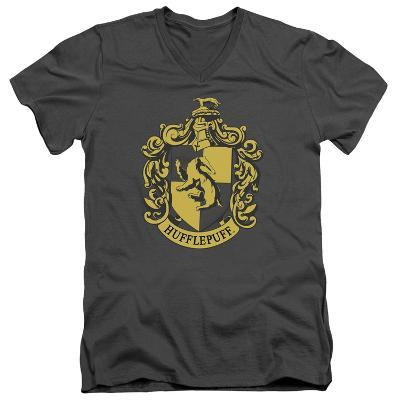 Harry Potter- Hufflepuff Crest V-Neck