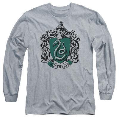 Long Sleeve: Harry Potter- Slytherine Crest