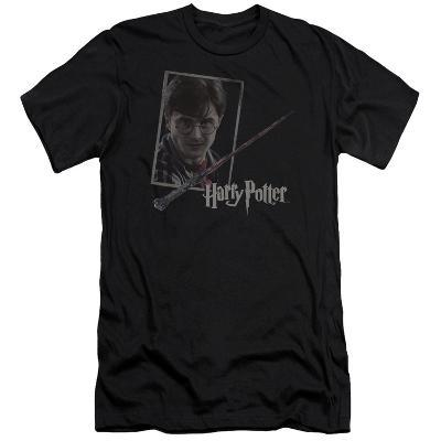 Harry Potter- Wand And Portrait Slim Fit