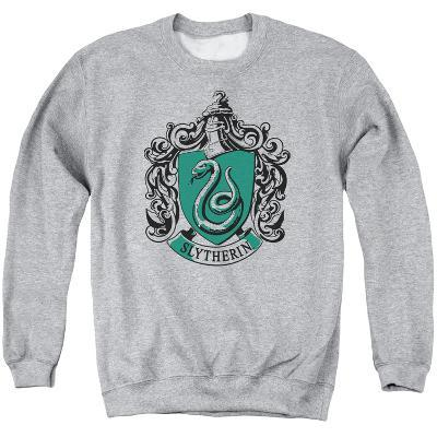 Crewneck Sweatshirt: Harry Potter- Slytherine Crest