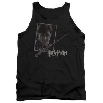 Tank Top: Harry Potter- Wand And Portrait