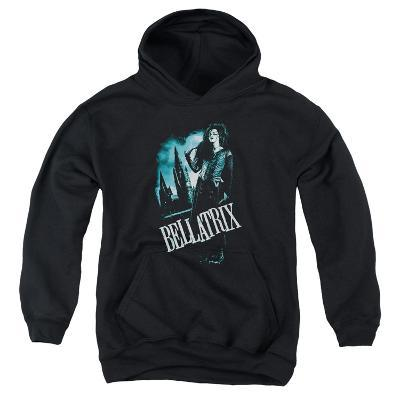 Youth Hoodie: Harry Potter- Bellatrix In Profile