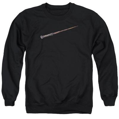 Crewneck Sweatshirt: Harry Potter- Holly And Phoenix Feather Core Wand