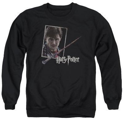 Crewneck Sweatshirt: Harry Potter- Wand And Portrait
