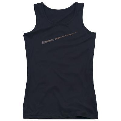 Juniors Tank Top: Harry Potter- Holly And Phoenix Feather Core Wand
