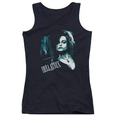 Juniors Tank Top: Harry Potter- Bellatrix Closeup
