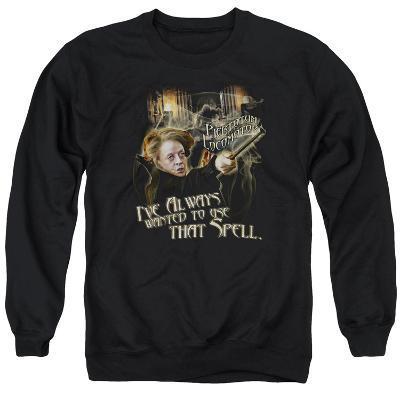 Crewneck Sweatshirt: Harry Potter- Mcgonagall Piertotum Locomotor