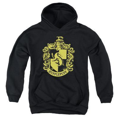 Youth Hoodie: Harry Potter- Hufflepuff Crest