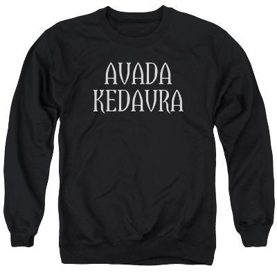 Crewneck Sweatshirt: Harry Potter- Avada Kedavra