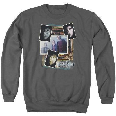 Crewneck Sweatshirt: Harry Potter- Trio Collage