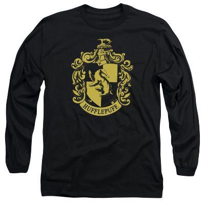 Long Sleeve: Harry Potter- Hufflepuff Crest