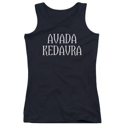 Juniors Tank Top: Harry Potter- Avada Kedavra