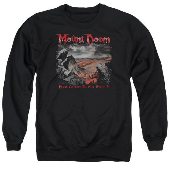 8c21be5a9 Crewneck Sweatshirt  Lord Of The Rings- Mount Doom Corruption T ...
