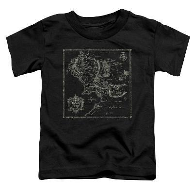 Toddler: Lord Of The Rings- Middle Earth Map