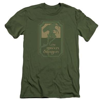 Lord Of The Rings- Green Dragon Tavern Slim Fit
