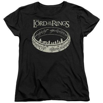 Womens: Lord Of The Rings- Ring Journey