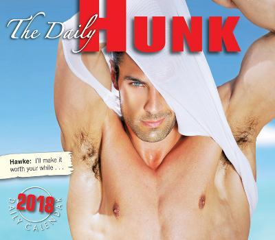 The Daily Hunk - 2018 Boxed Calendar