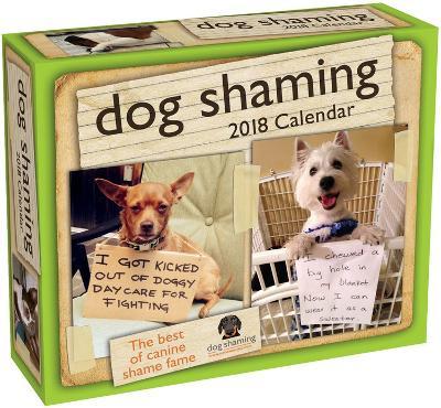 Dog Shaming - 2018 Boxed Calendar
