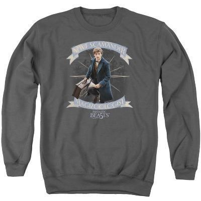 Crewneck Sweatshirt: Fantastic Beasts- Newt Scamander Magizoologist