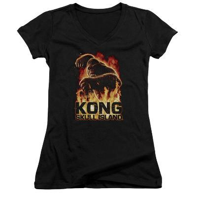 Juniors: Kong: Skull Island- Out Of The Fire V-Neck