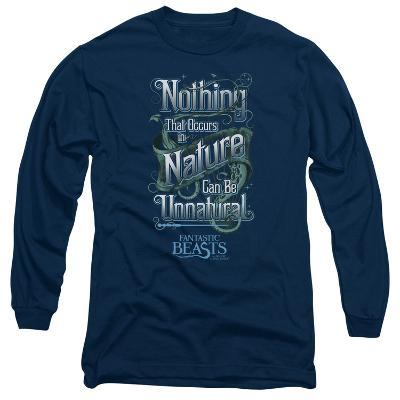 Long Sleeve: Fantastic Beasts- Nothing In Nature Is Unnatural