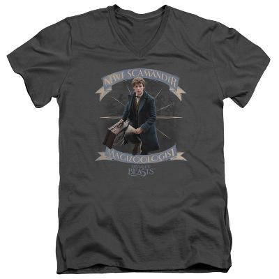 Fantastic Beasts- Newt Scamander Magizoologist V-Neck