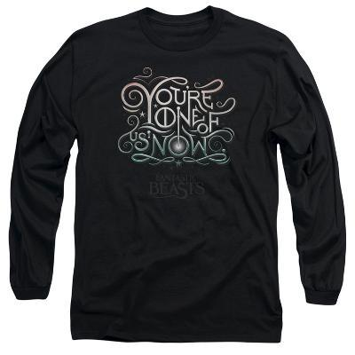 Long Sleeve: Fantastic Beasts- One Of Us Logography
