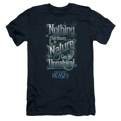 Fantastic Beasts- Nothing In Nature Is Unnatural Slim Fit