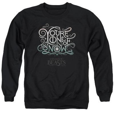 Crewneck Sweatshirt: Fantastic Beasts- One Of Us Logography