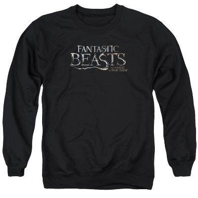 Crewneck Sweatshirt: Fantastic Beasts- Movie Logo