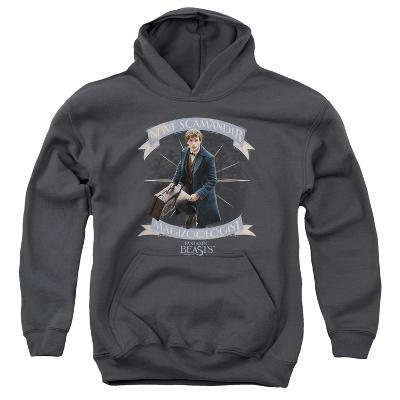 Youth Hoodie: Fantastic Beasts- Newt Scamander Magizoologist