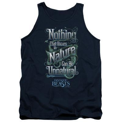 Tank Top: Fantastic Beasts- Nothing In Nature Is Unnatural