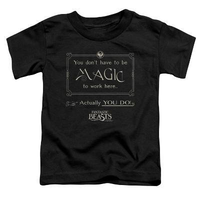 Toddler: Fantastic Beasts- Magic To Work Here